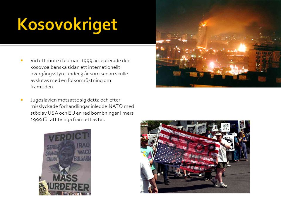 Kosovokriget