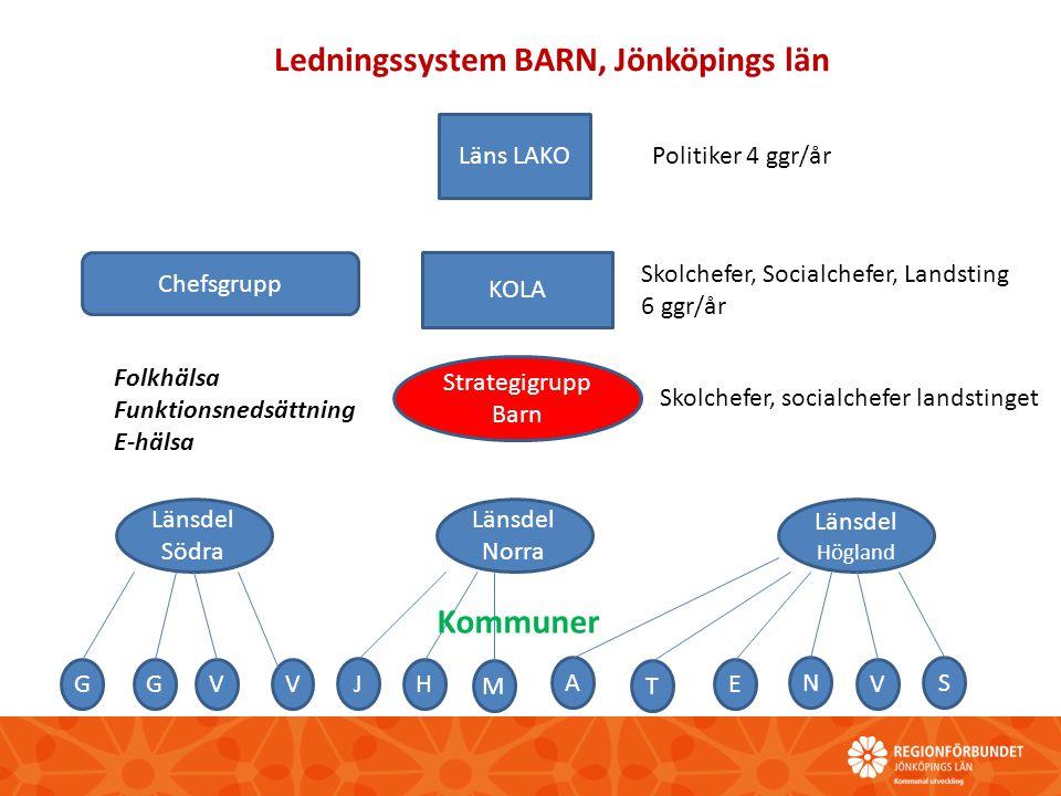 Ledningssystem BARN, Jönköpings län