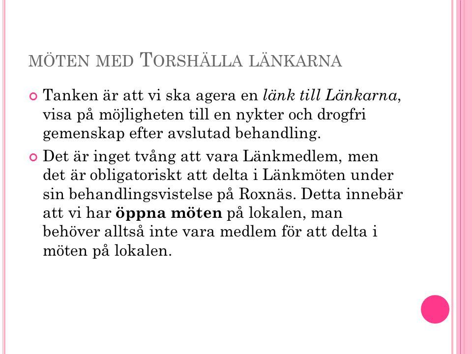 möten med Torshälla länkarna