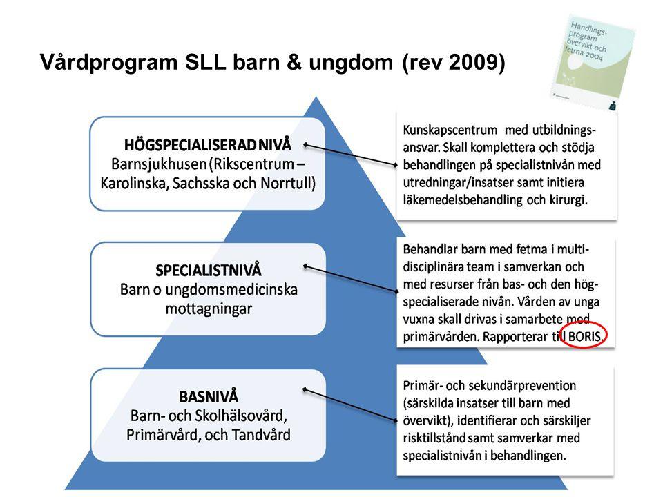 Vårdprogram SLL barn & ungdom (rev 2009)