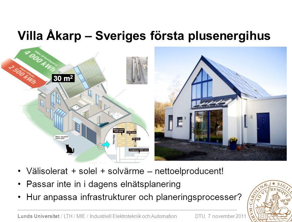 Villa Åkarp – Sveriges första plusenergihus