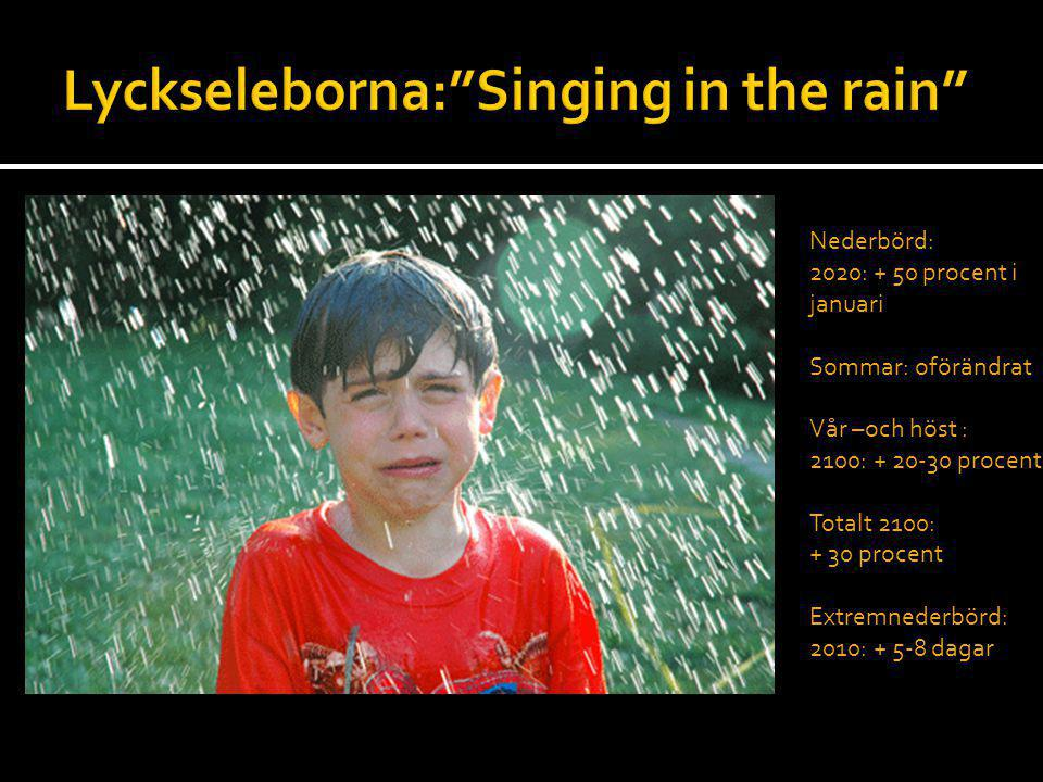 Lyckseleborna: Singing in the rain