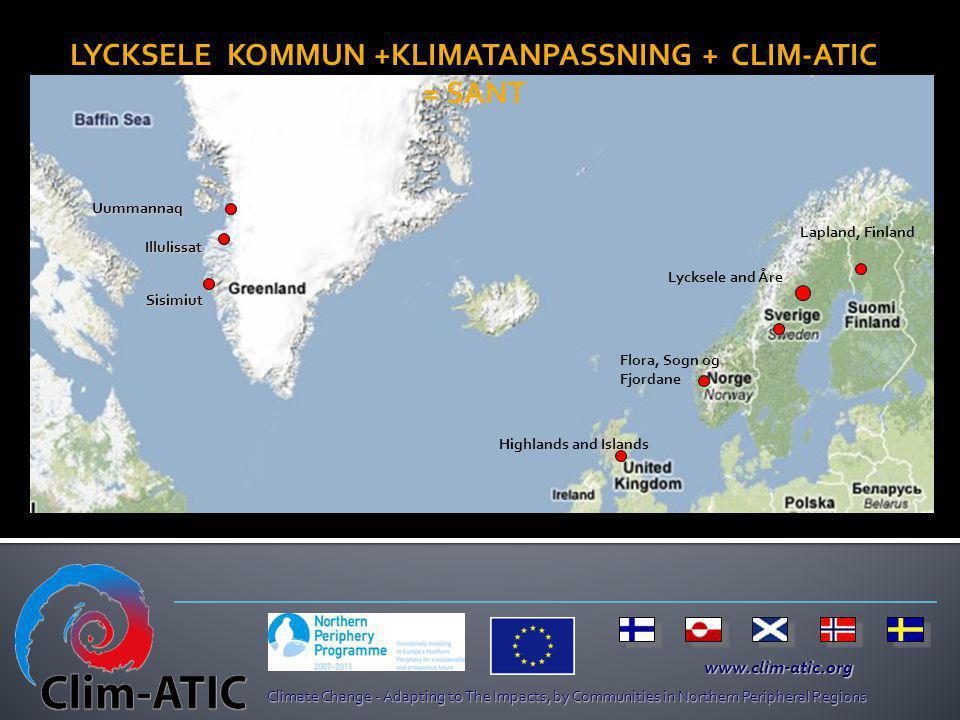 LYCKSELE KOMMUN +KLIMATANPASSNING + CLIM-ATIC