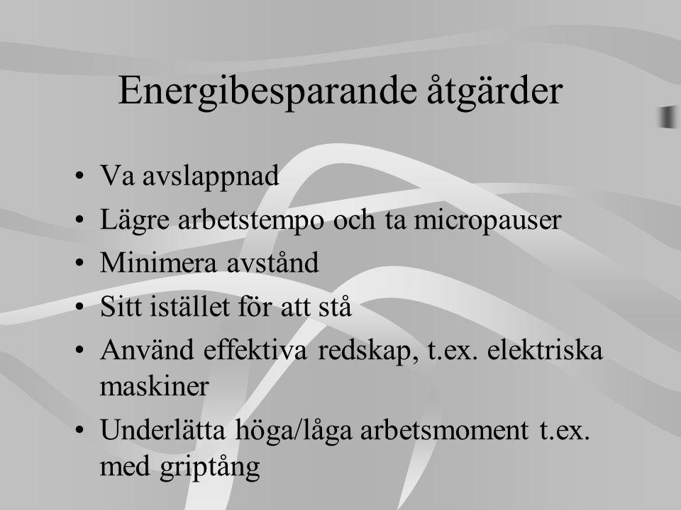 Energibesparande åtgärder