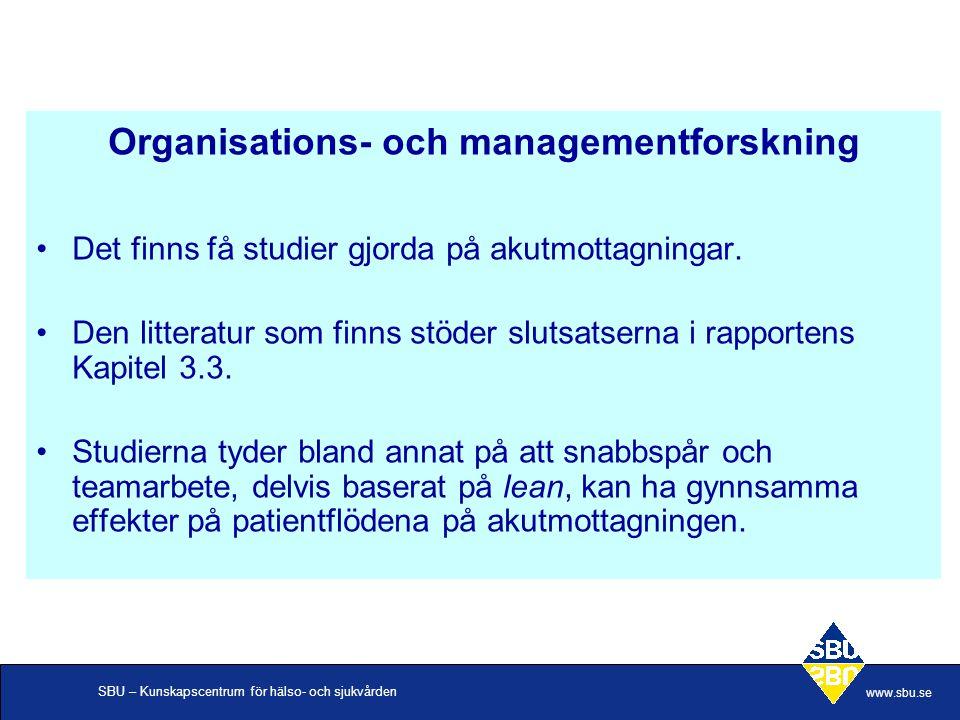 Organisations- och managementforskning