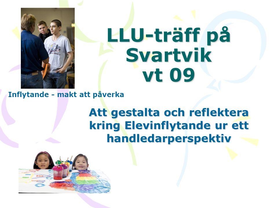 LLU-träff på Svartvik vt 09
