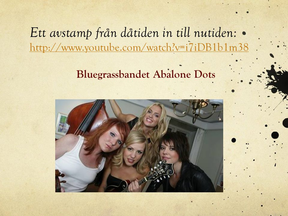 Bluegrassbandet Abalone Dots