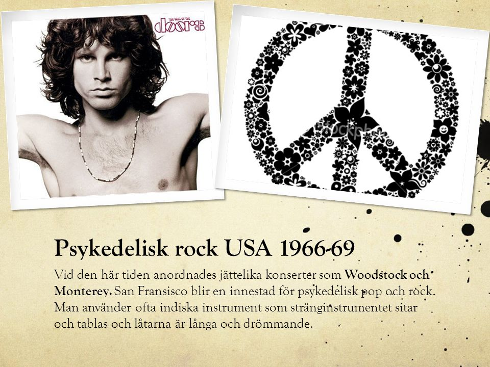 Psykedelisk rock USA 1966-69