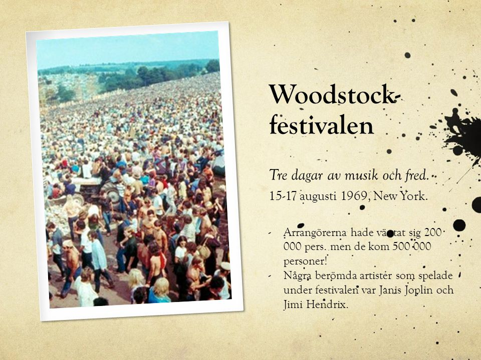 Woodstock- festivalen