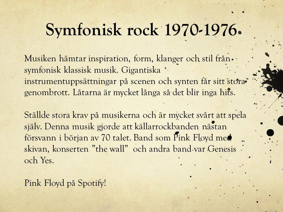 Symfonisk rock 1970-1976
