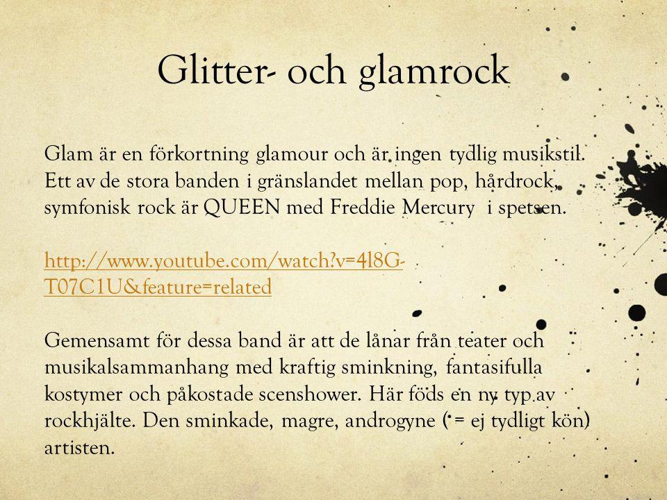 Glitter- och glamrock