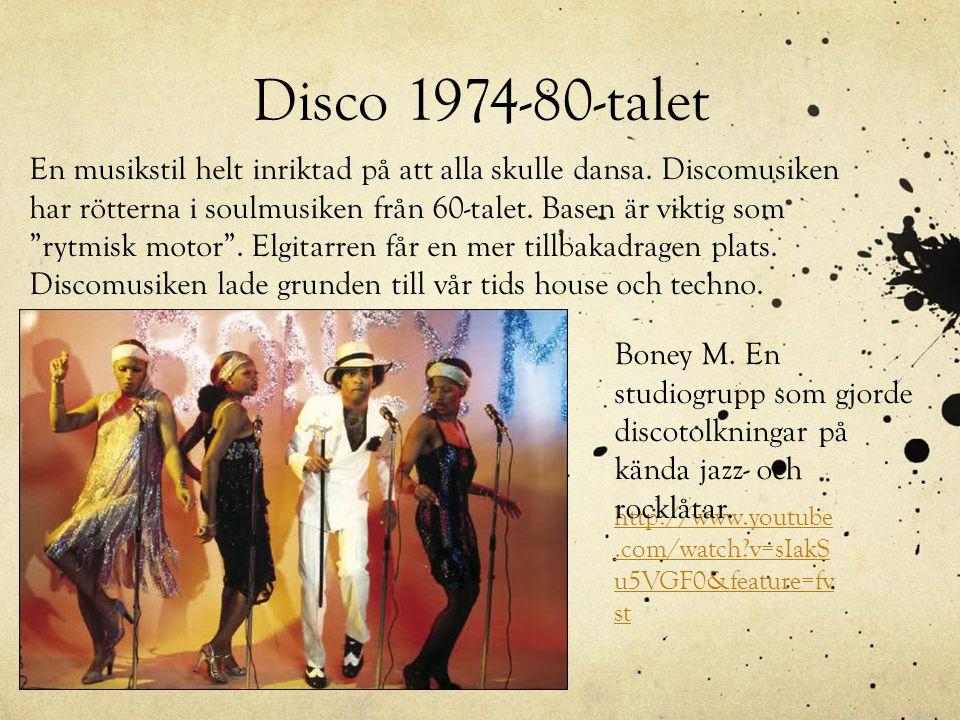 Disco 1974-80-talet
