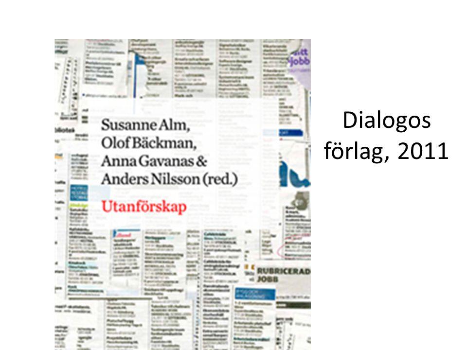 Dialogos förlag, 2011