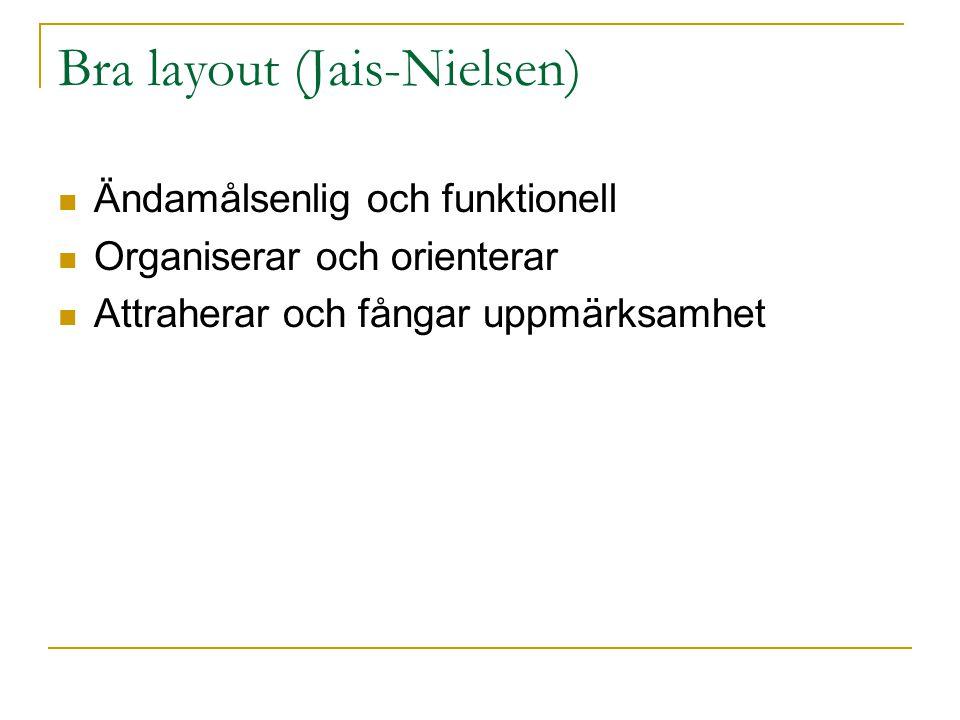 Bra layout (Jais-Nielsen)