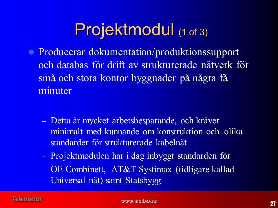 Projektmodul (1 of 3)