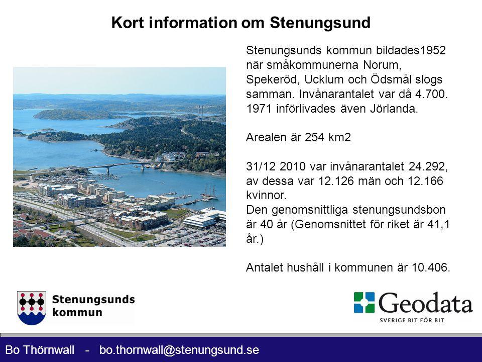 Kort information om Stenungsund