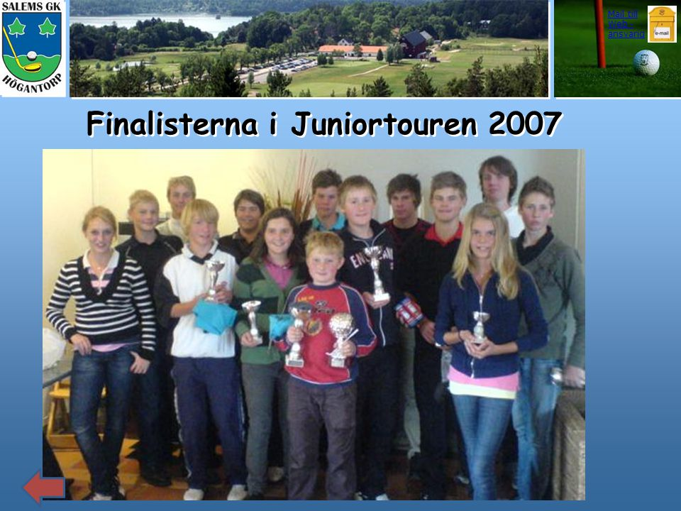 Finalisterna i Juniortouren 2007