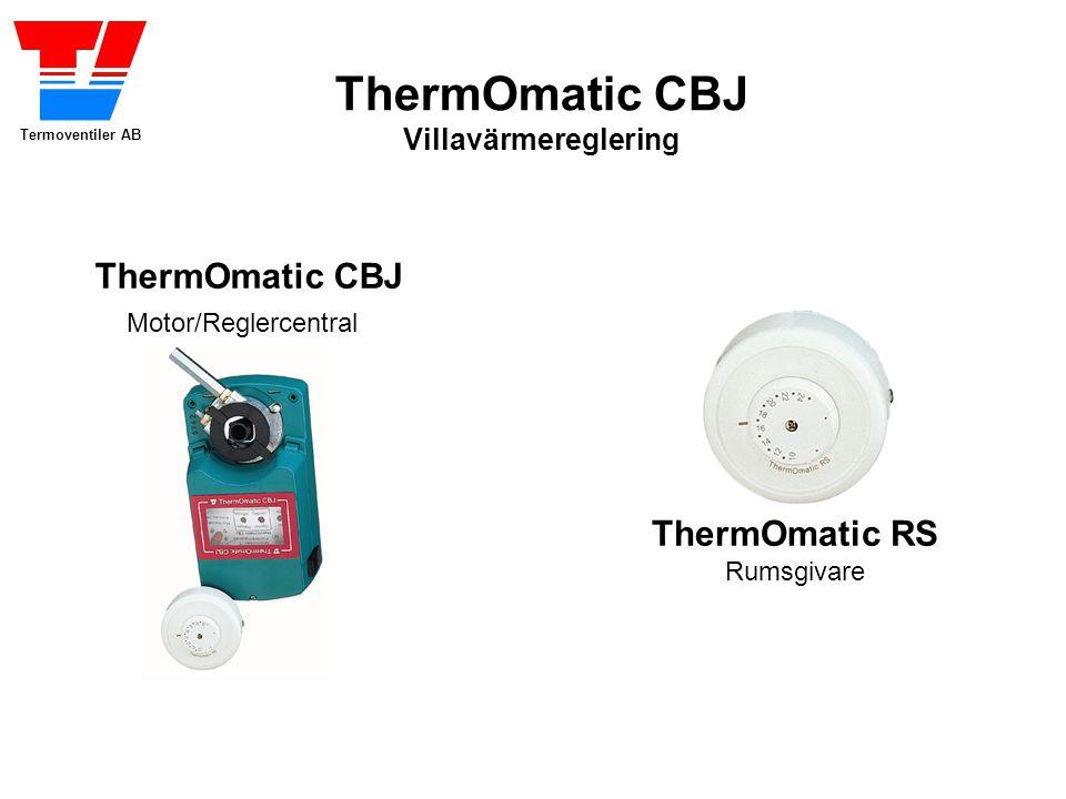 ThermOmatic CBJ Motor/Reglercentral