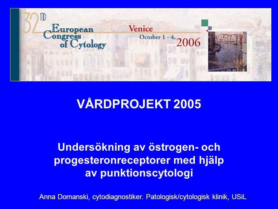 Anna Domanski, cytodiagnostiker. Patologisk/cytologisk klinik, USiL