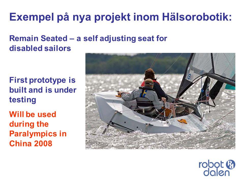 Exempel på nya projekt inom Hälsorobotik: