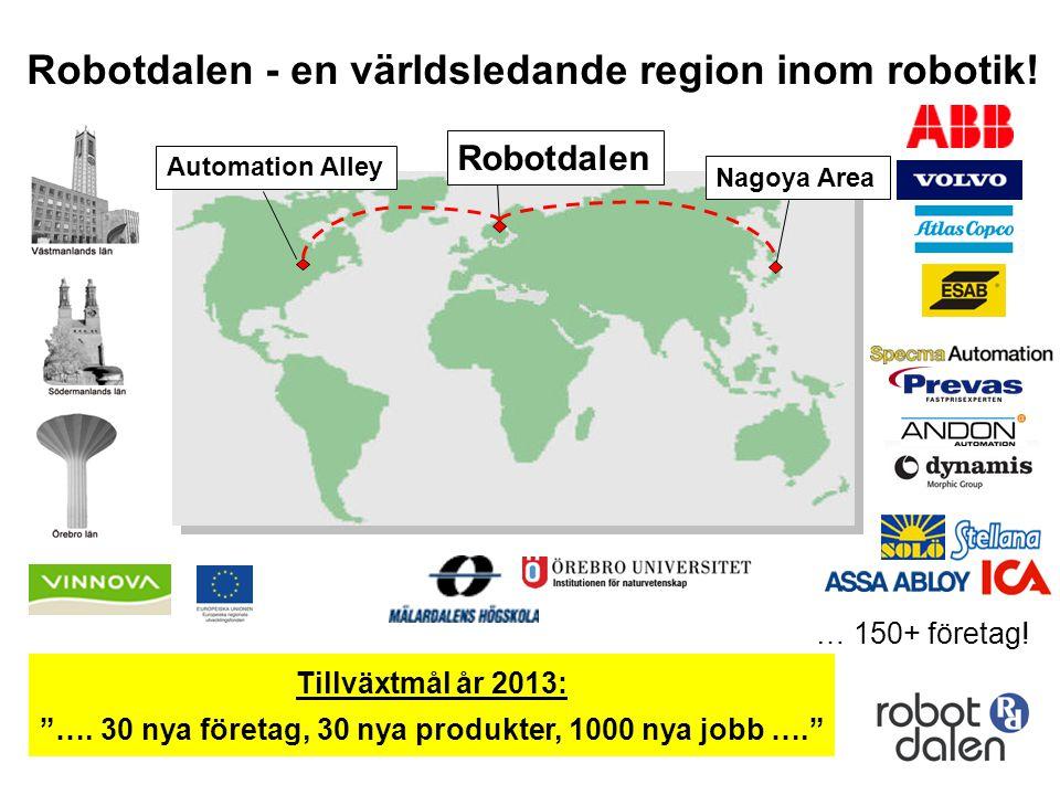 Robotdalen - en världsledande region inom robotik!