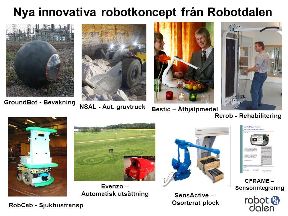 Rerob - Rehabilitering Automatisk utsättning RobCab - Sjukhustransp