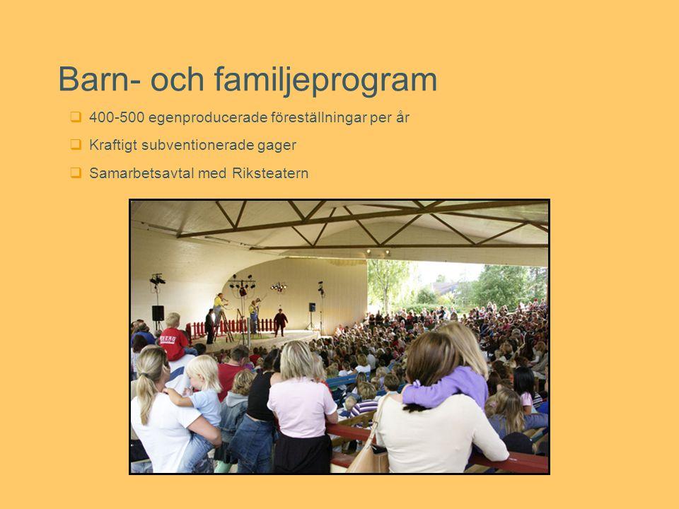 Barn- och familjeprogram