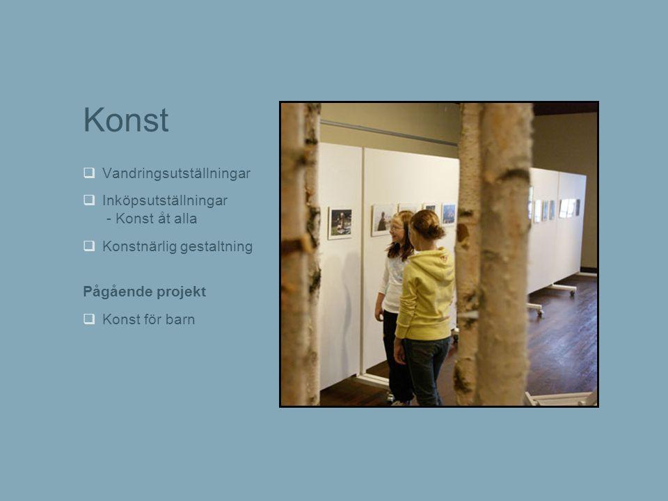 Konst Vandringsutställningar Inköpsutställningar - Konst åt alla