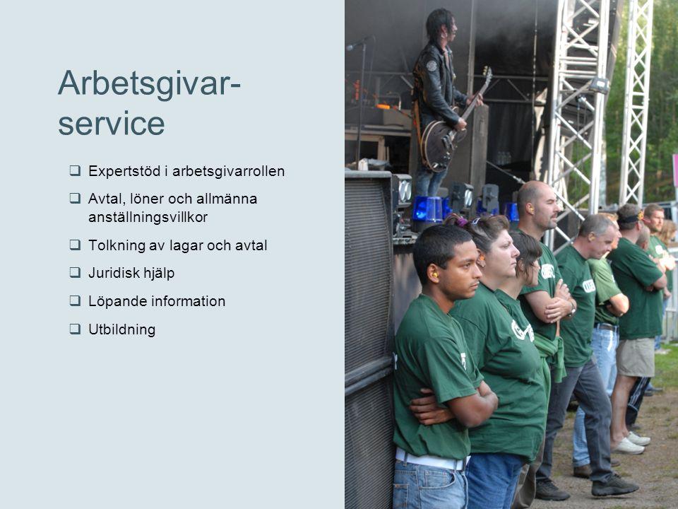 Arbetsgivar- service Expertstöd i arbetsgivarrollen