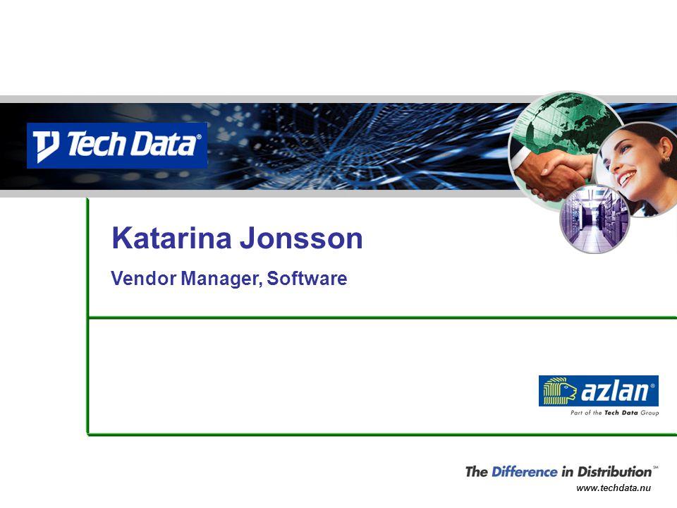 Katarina Jonsson Vendor Manager, Software