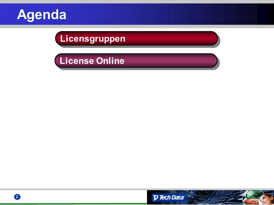Agenda Licensgruppen License Online