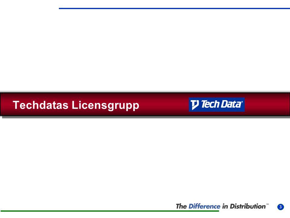 Techdatas Licensgrupp