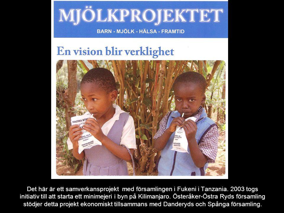 Det här är ett samverkansprojekt med församlingen i Fukeni i Tanzania