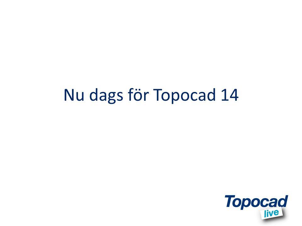 Nu dags för Topocad 14