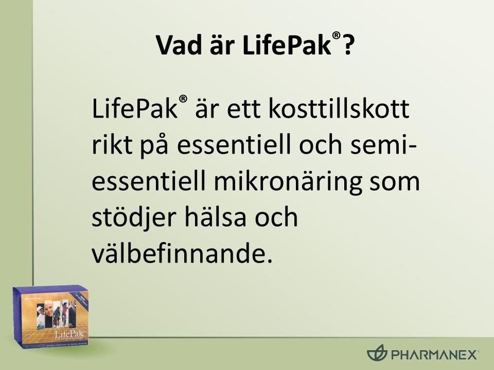 Vad är LifePak®.