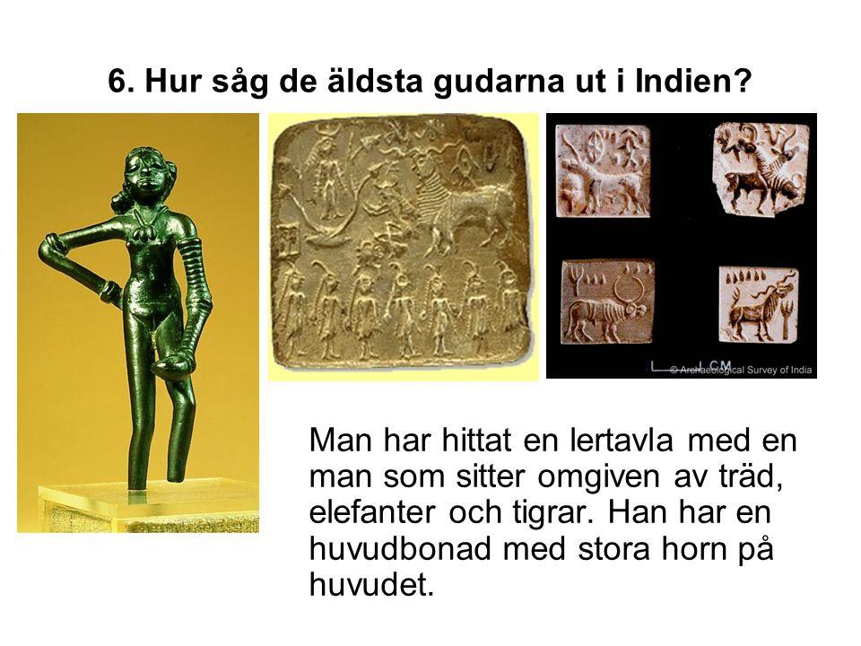 6. Hur såg de äldsta gudarna ut i Indien