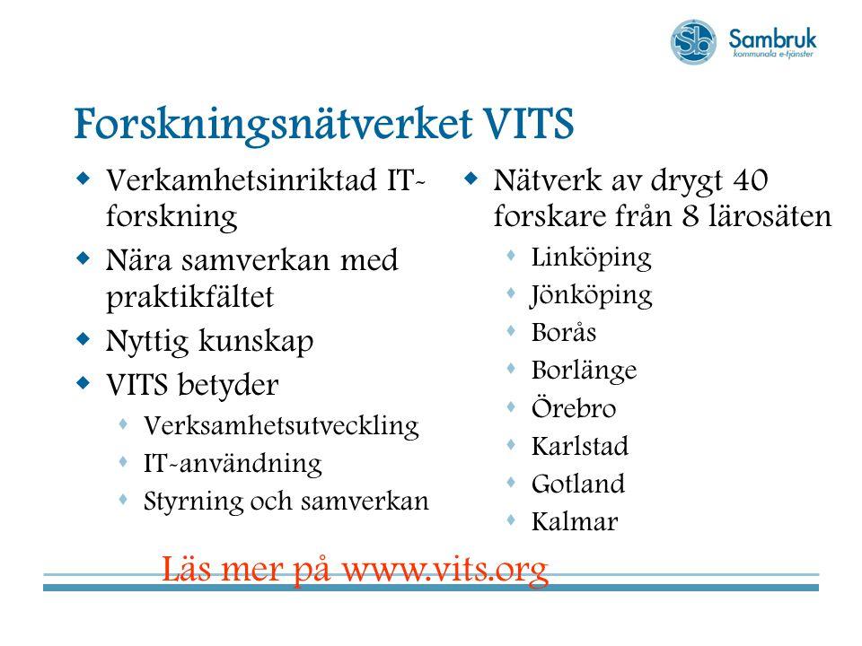 Forskningsnätverket VITS