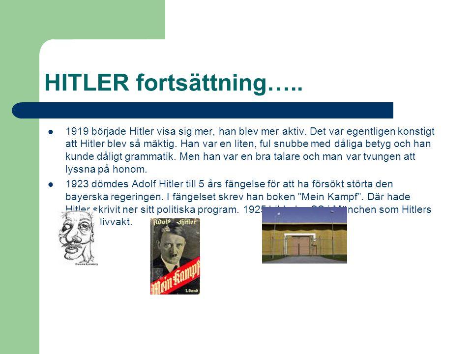 HITLER fortsättning…..