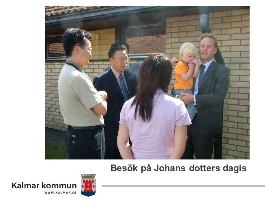 Besök på Johans dotters dagis