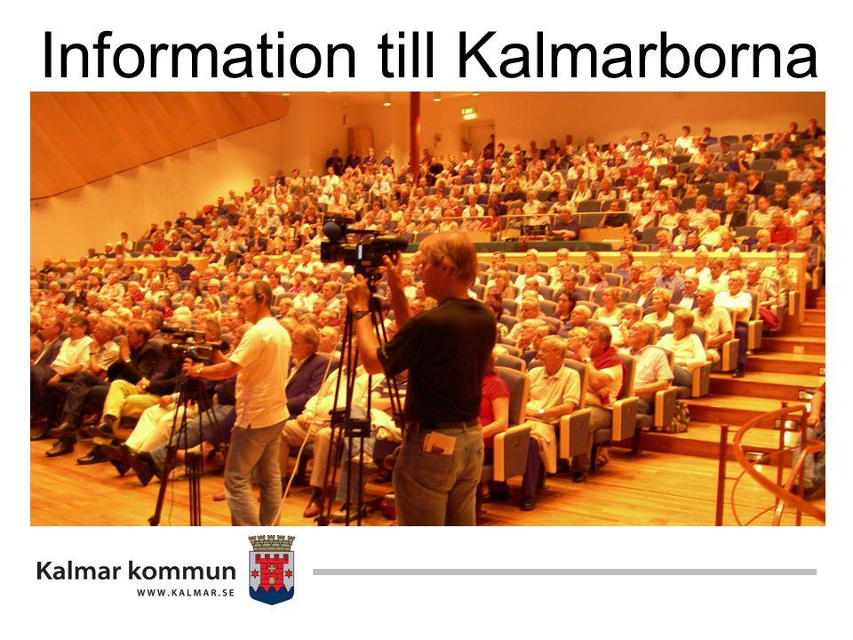 Information till Kalmarborna