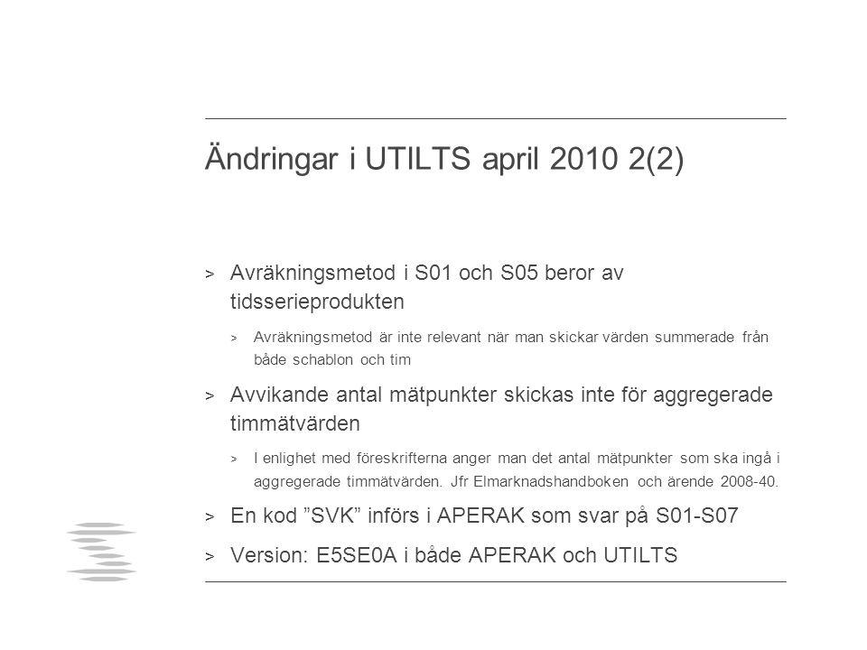 Ändringar i UTILTS april 2010 2(2)