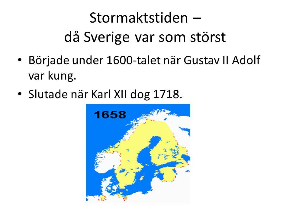 Stormaktstiden Da Sverige Var Som Storst Ppt Video Online Ladda Ner