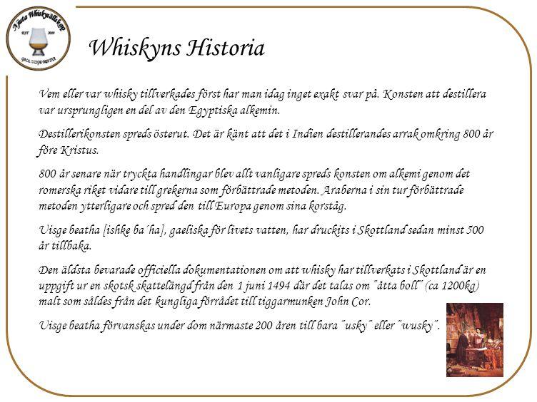 Whiskyns Historia