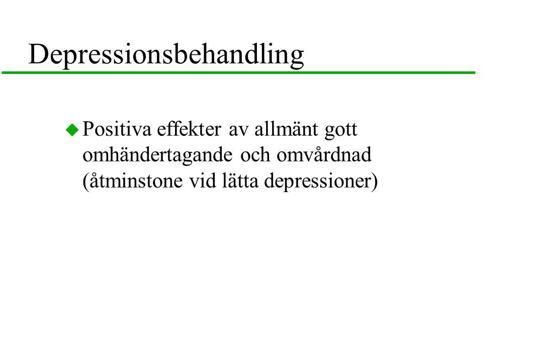 Depressionsbehandling