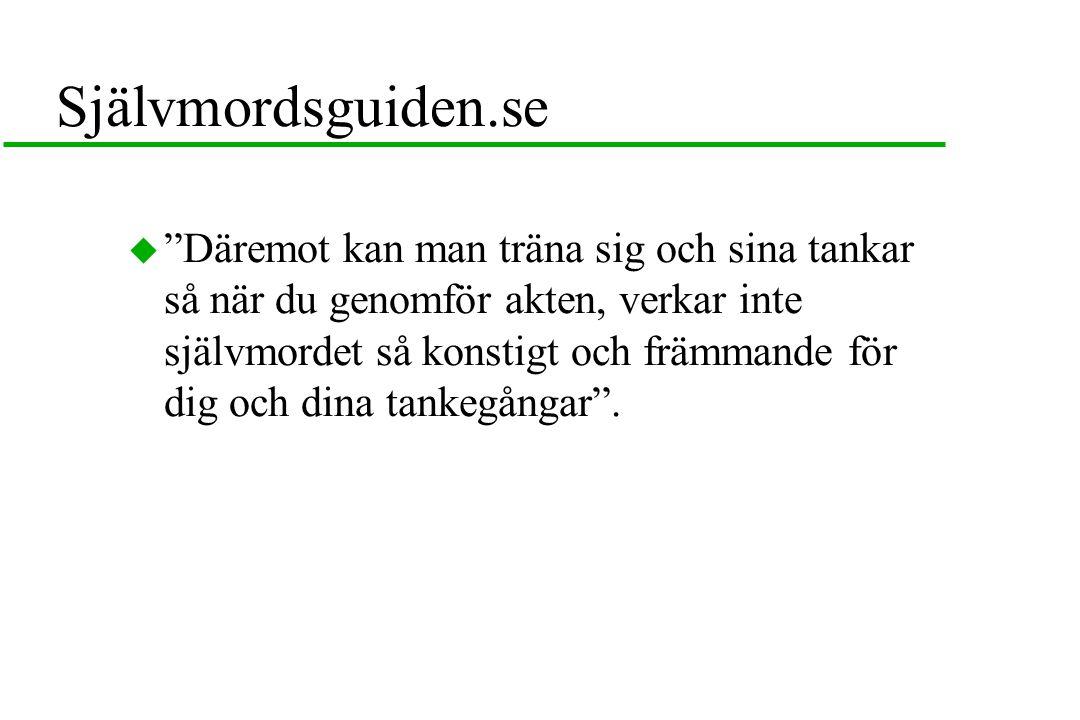 Självmordsguiden.se