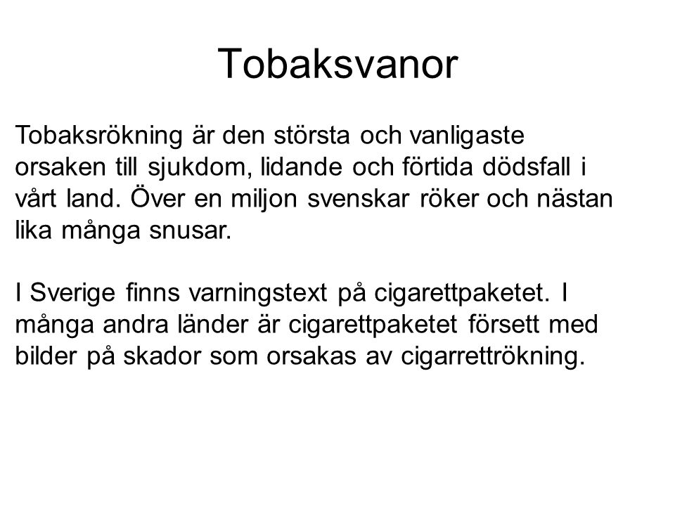 Tobaksvanor