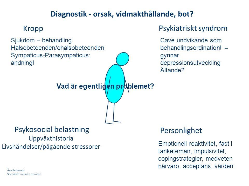 Psykosocial belastning