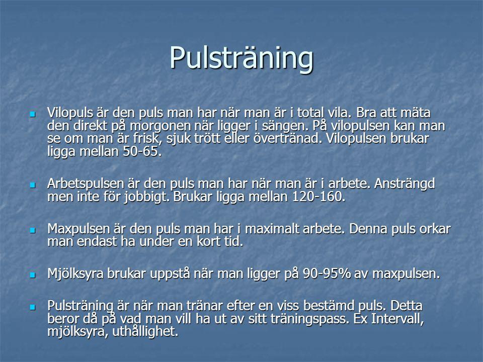 Pulsträning