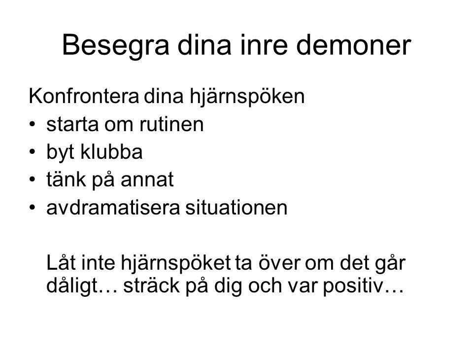 Besegra dina inre demoner