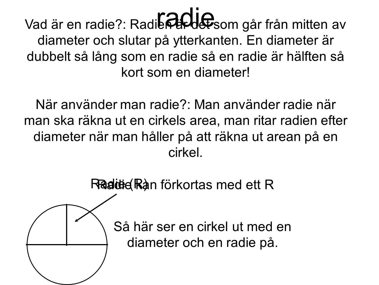 radie